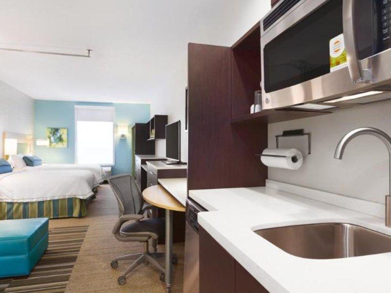 Home2 Suites by Hilton Amarillo Badezimmer