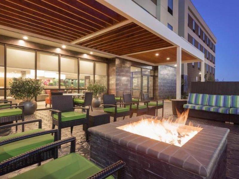Home2 Suites by Hilton Amarillo Terrasse