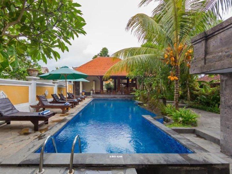 Inata Monkey Forest Hotel Ubud Pool