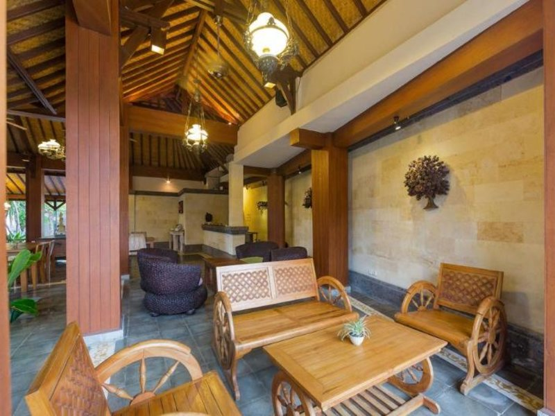 Inata Monkey Forest Hotel Ubud Lounge/Empfang