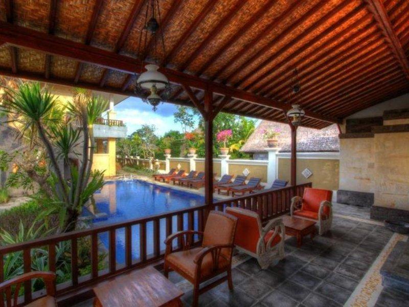 Inata Monkey Forest Hotel Ubud Terrasse