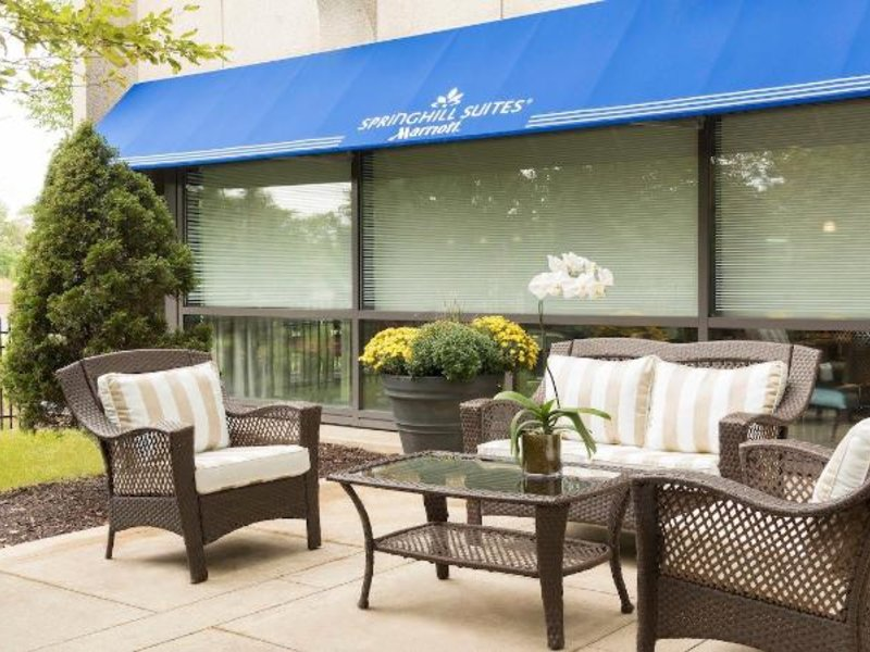 SpringHill Suites Chicago O´Hare by Marriott Terrasse