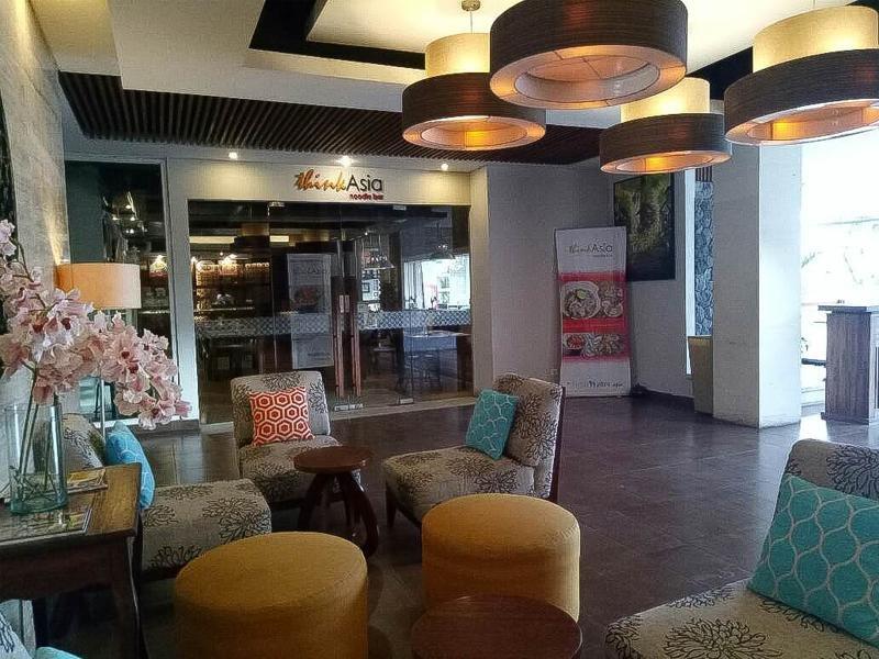 Adhi Jaya Sunset Hotel Lounge/Empfang