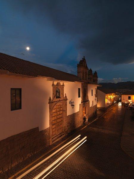 Palacio Nazarenas Außenaufnahme