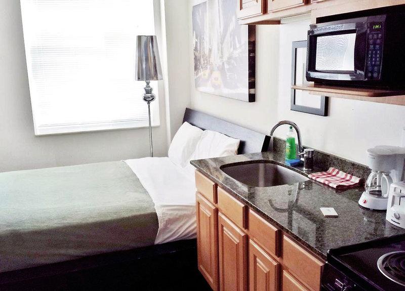 The Pittsfield Hotel - Apartments & Suites Wohnbeispiel
