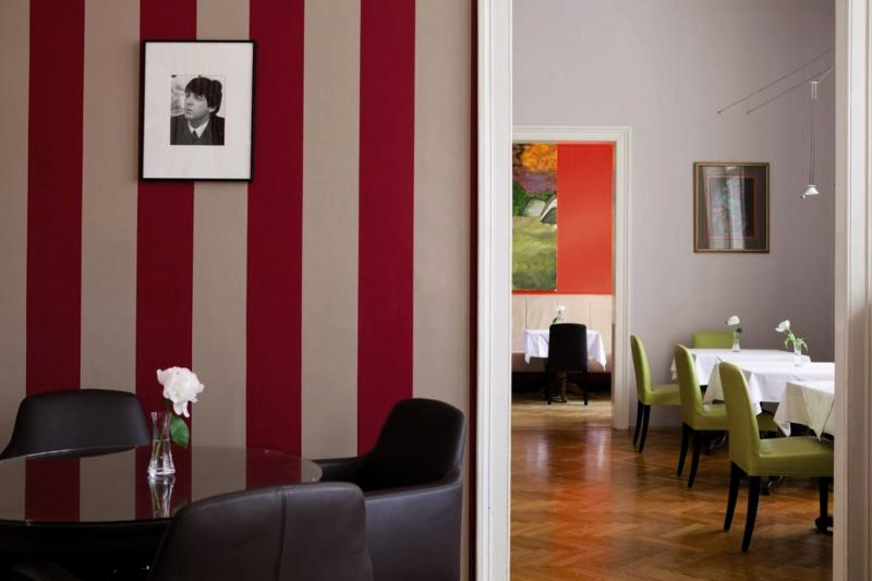 Small Luxury Hotel Altstadt Vienna  Lounge/Empfang