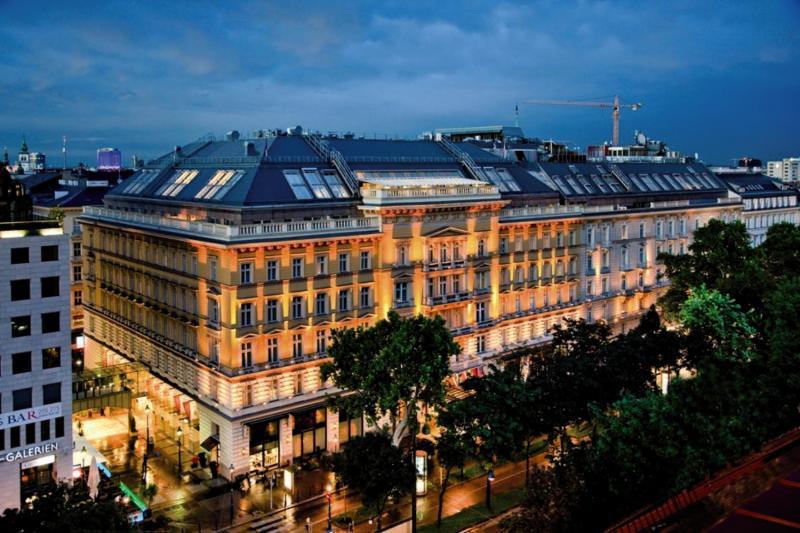Grand Hotel Wien Außenaufnahme