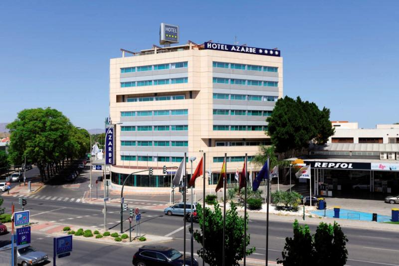 Hotel Azarbe Außenaufnahme