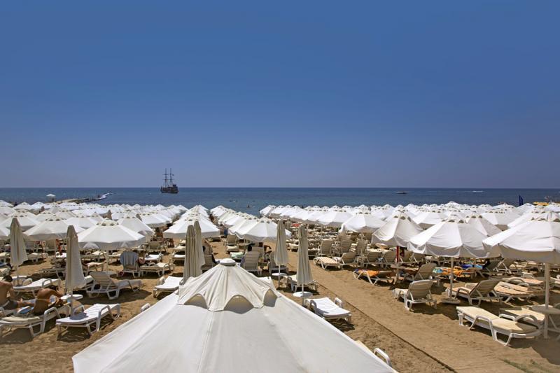 Merve Sun Hotel & Spa Terrasse