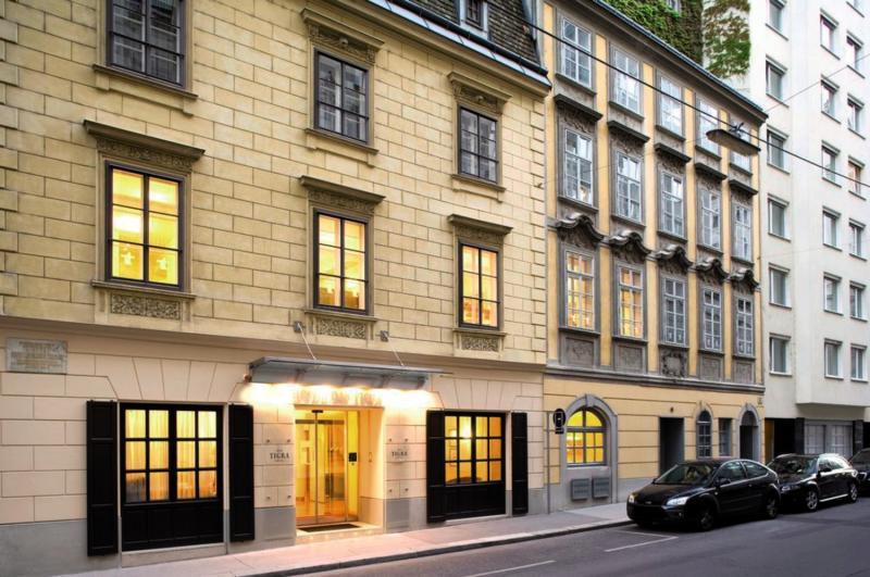 Das Tigra Hotel Wien Außenaufnahme
