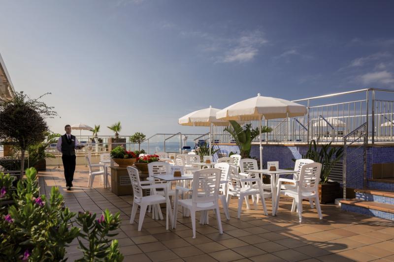 H TOP Pineda Palace Terrasse