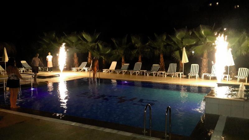 Skys Hotel Pool