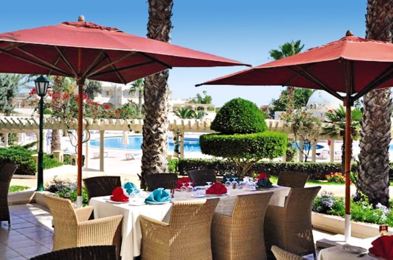 Le Royal Hotel Hammamet Terrasse
