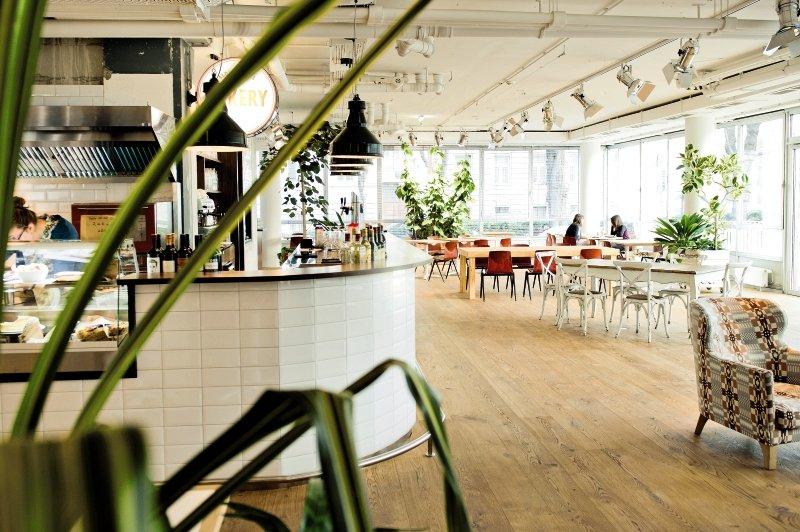 Hotel Daniel Lounge/Empfang
