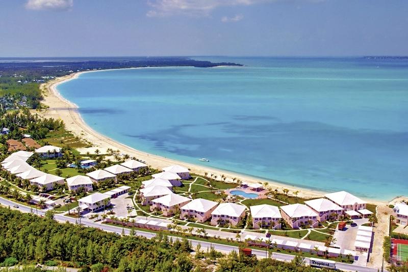 Bahama Beach Club Landschaft