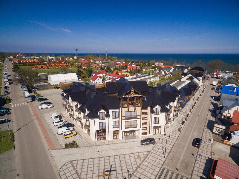 Hotel Szlak Bursztynowy Außenaufnahme