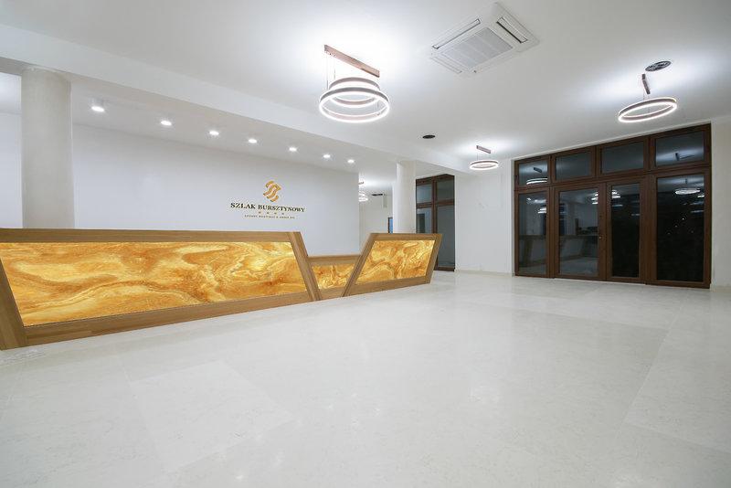 Hotel Szlak Bursztynowy Lounge/Empfang