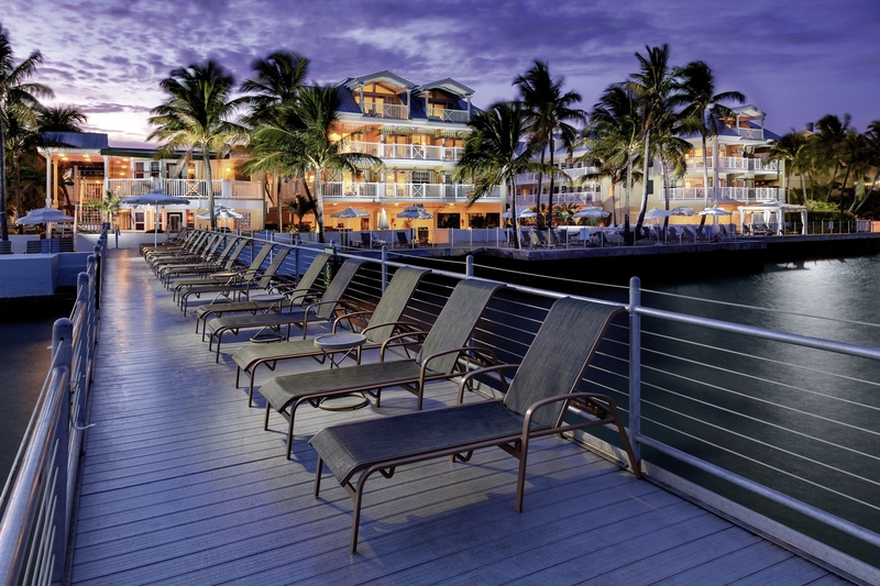 Southernmost Beach Resort Terrasse