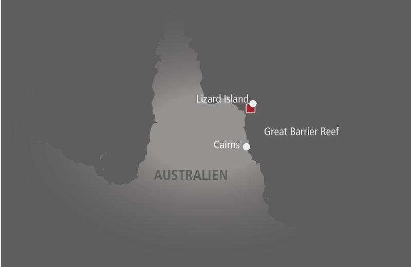 Lizard Island Landkarte