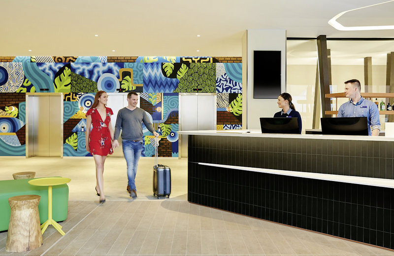 Holiday Inn Express Adelaide City Centre Lounge/Empfang
