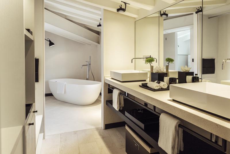 Sant Francesc Hotel Singular Badezimmer