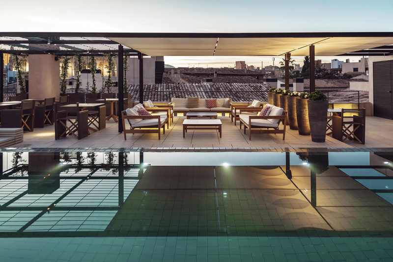 Sant Francesc Hotel Singular Terrasse