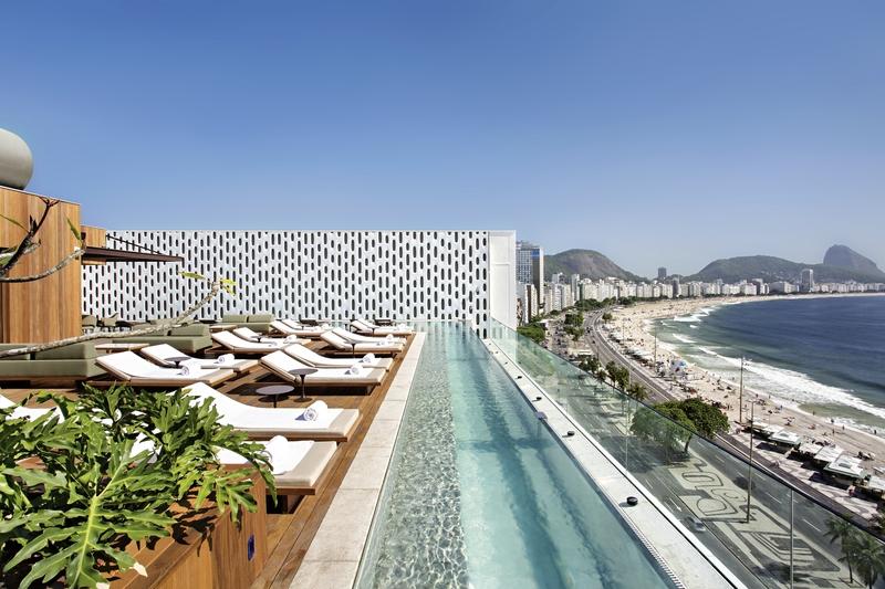 Hotel Emiliano Rio de Janeiro Terrasse