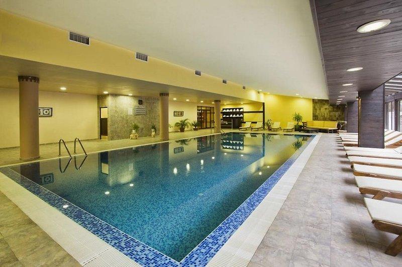 Casa Karina Hotel & Apartments Hallenbad