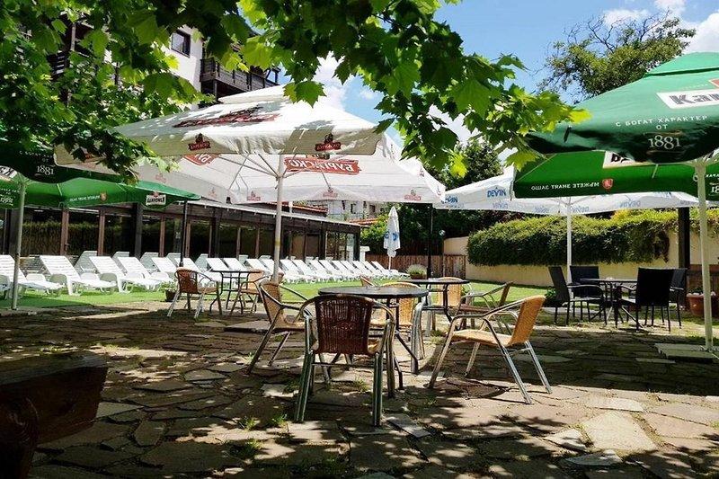 Casa Karina Hotel & Apartments Terrasse