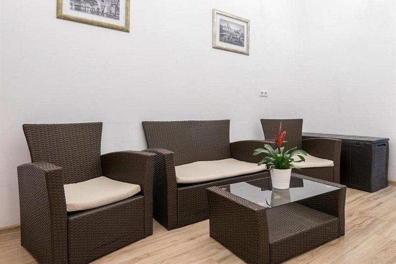 Pergamin Royal Apartments Lounge/Empfang