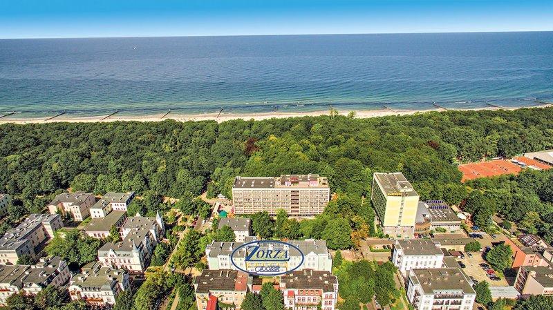 Hotel Zorza Landschaft
