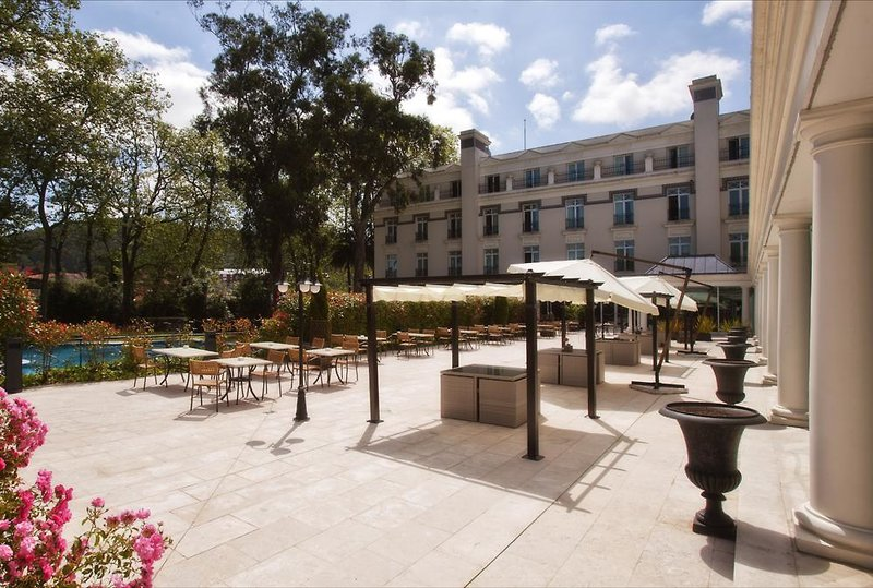 Castilla Termal Balneario de Solares Terrasse