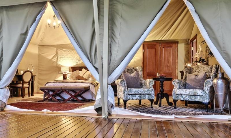 Kadizora Camp Lounge/Empfang