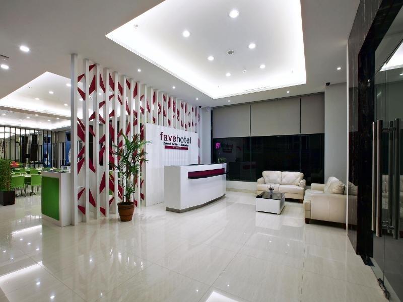 favehotel Zainul Arifin Gajah Mada Lounge/Empfang