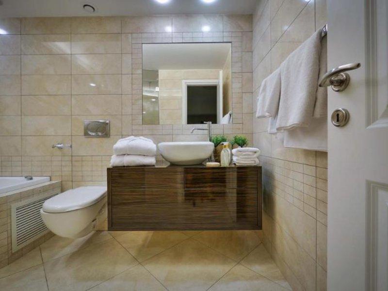 21st Floor Hotel Badezimmer