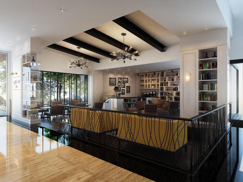 Hotel De Paviljoen by HIM Lounge/Empfang