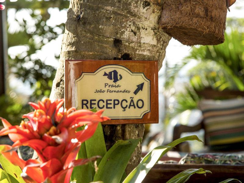 Pousada Praia Joao Fernandes Landschaft