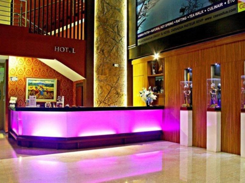 Cassadua Hotel Lounge/Empfang