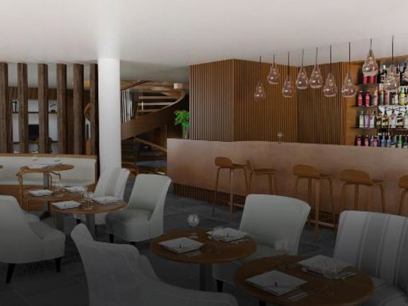 Cottage City Hotel Puerto Buceo Lounge/Empfang
