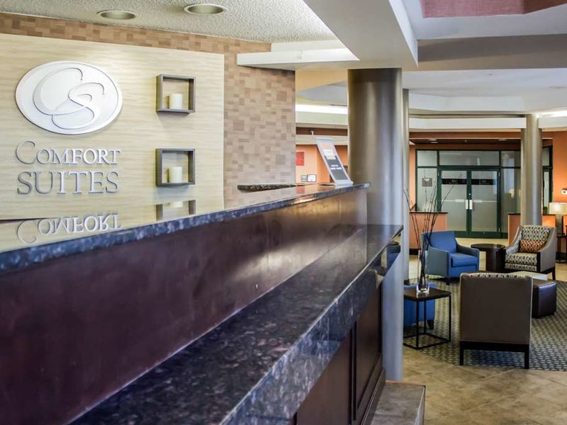 Comfort Suites Raleigh Durham Airport/RTP Lounge/Empfang