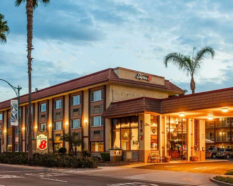 Super 8 Anaheim Disneyland Drive Außenaufnahme
