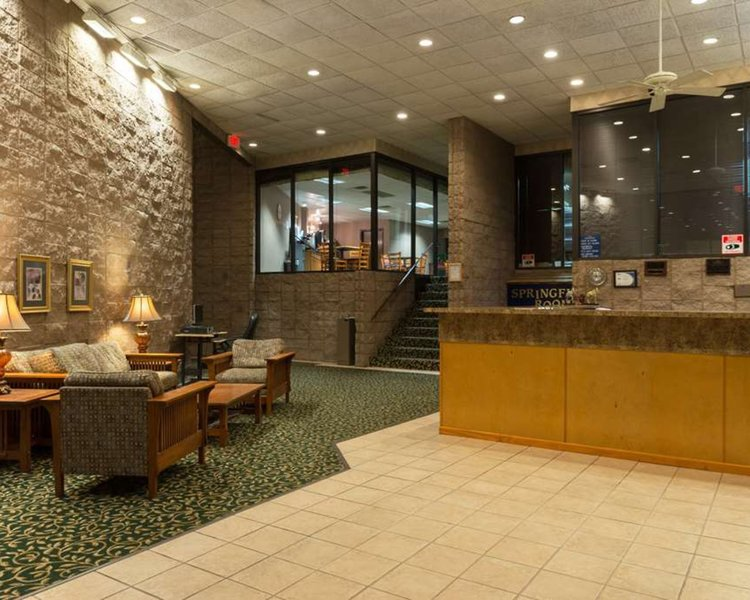 Howard Johnson Inn & Suites Springfield Lounge/Empfang