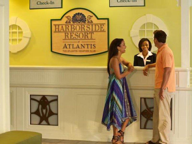 Atlantis Paradise Island - Harborside Resort Lounge/Empfang