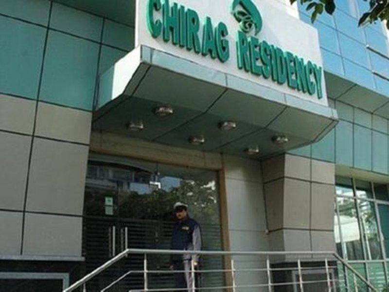 Hotel Chirag Residency Außenaufnahme