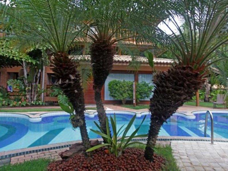Hotel Vila Dos Corais Garten