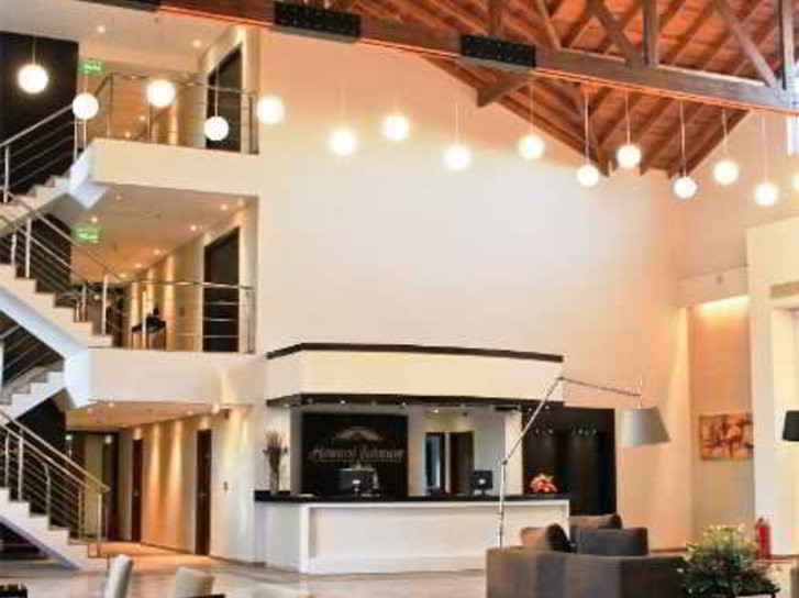 Howard Johnson Hotel & Convention Center Ezeiza Lounge/Empfang
