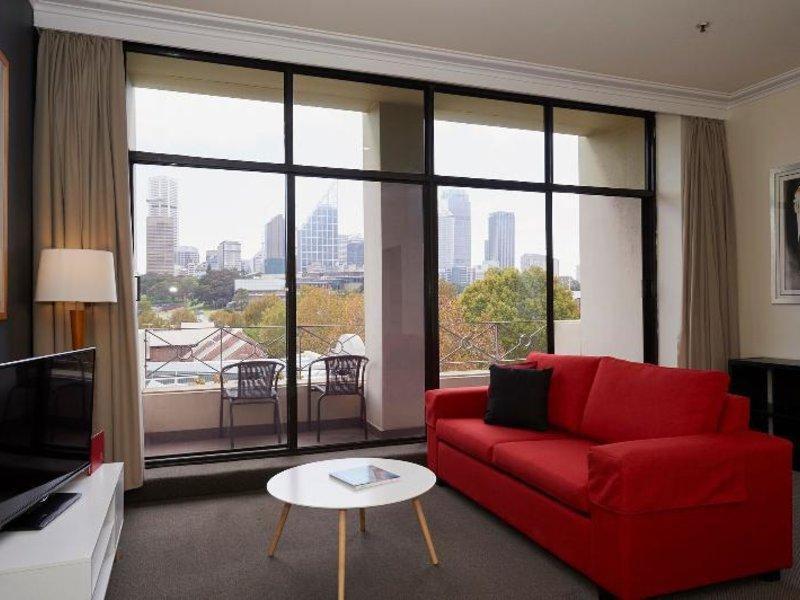 Waldorf Woolloomooloo Waters Serviced Apartments Wohnbeispiel