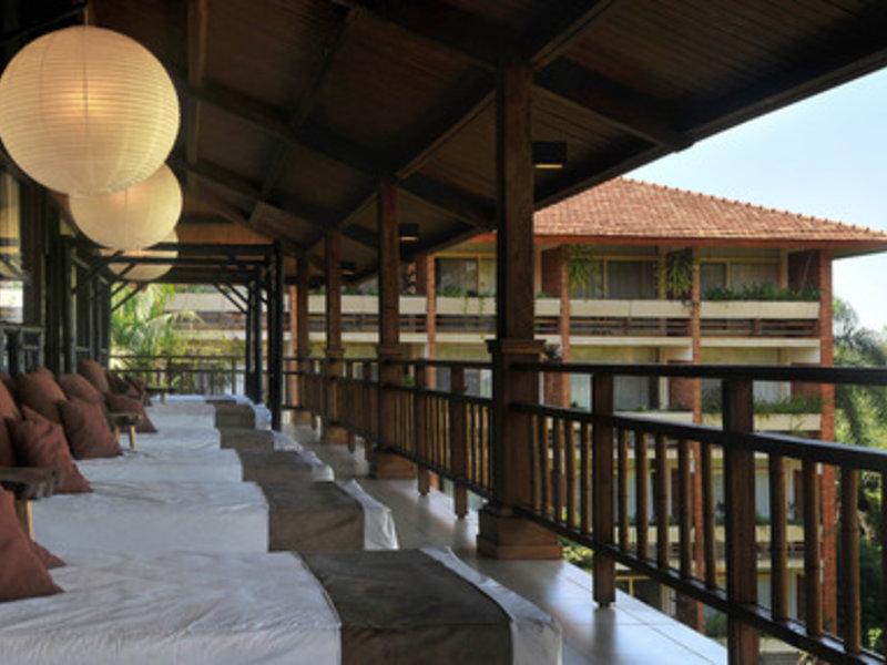 Raices Amambai Lodges  Terrasse