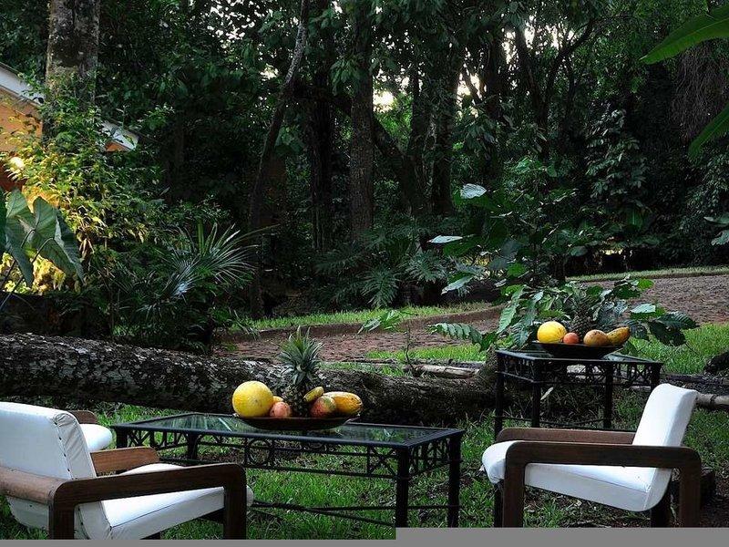 Raices Amambai Lodges  Garten