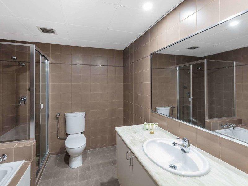 Waldorf Woolloomooloo Waters Serviced Apartments Badezimmer